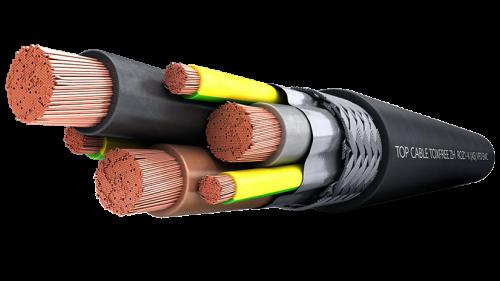 Кабель контрольный TOXFREE ZH ROZ1-K (AS) VFD EMC 0,6/1 kV Top Cable