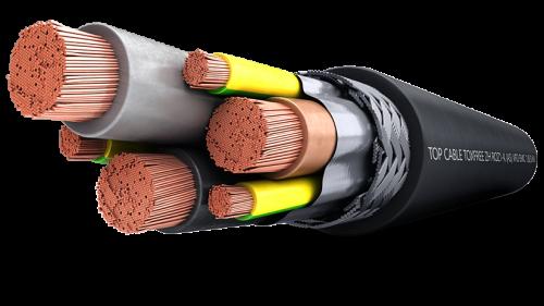 Кабель контрольный TOXFREE ZH ROZ1-K (AS) VFD EMC 1,8/3 kV Top Cable