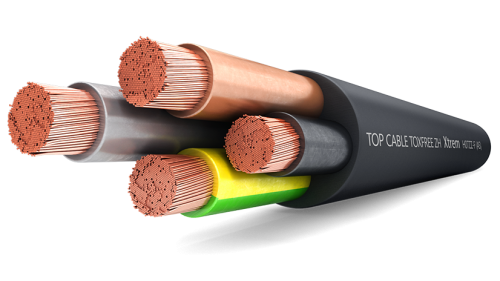 Кабель гибкий TOXFREE ZH XTREM H07ZZ-F (AS) Top Cable